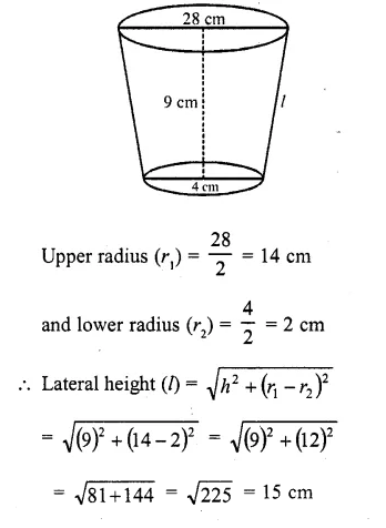 RD Sharma Class 10 Solutions Chapter 14 Surface Areas and Volumes  RV 61