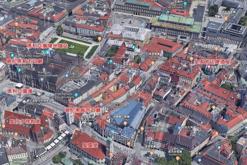 Hofbräuhaus am Platzl Map