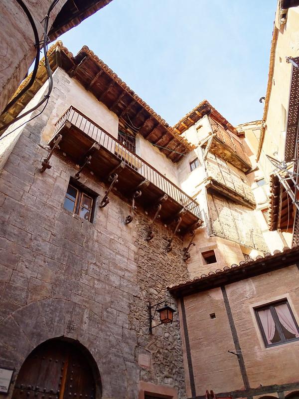 antigua Casa de la Comunidad Plaza de la Comunidad Albarracin Teruel 02