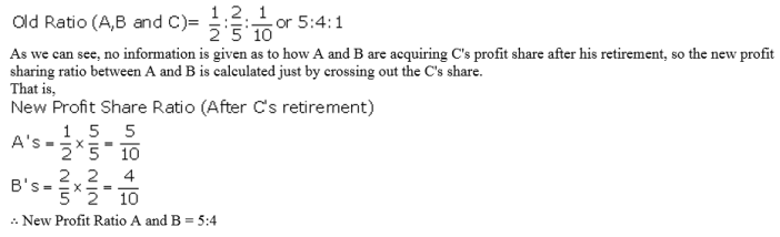 TS Grewal Accountancy Class 12 Solutions Chapter 5 Retirement Death of a Partner Q1