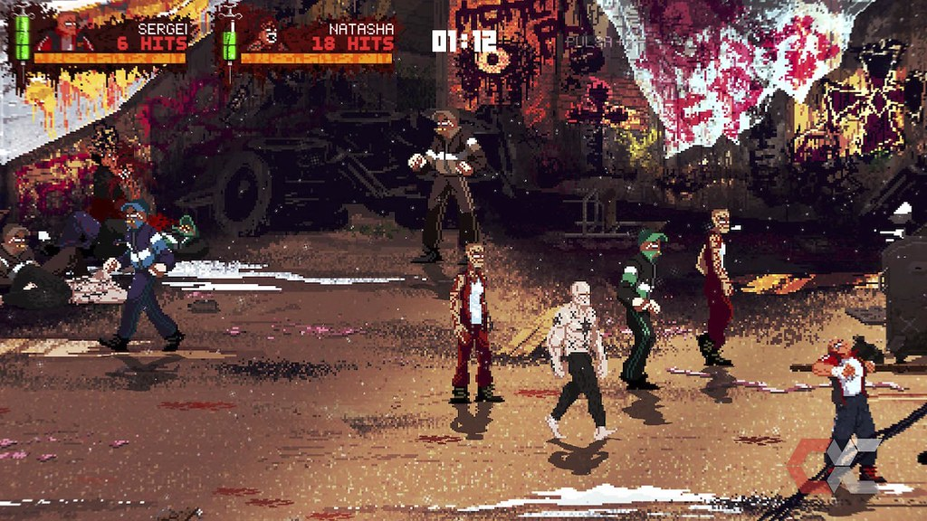 Mother Russia Bleeds Review - OverCluster 9