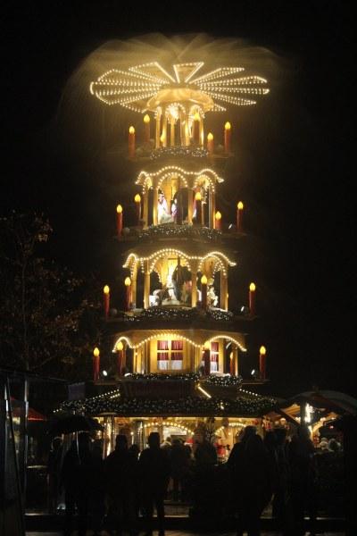 Christmas pyramid in Furth