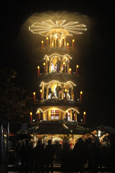 Christmas pyramid in Furth