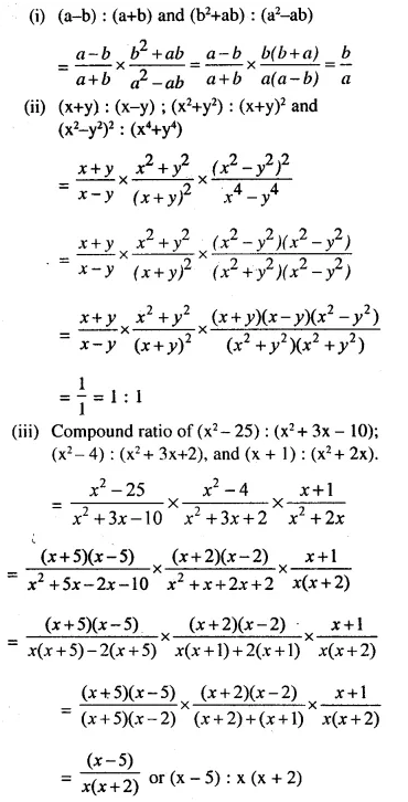 Selina Concise Mathematics Class 10 ICSE Solutions Chapterwise Revision Exercise 35