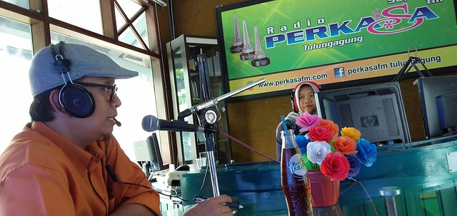 Victor Febrihandoko Talk Show di Radio Perkasa FM terkait tahapan Pemilu 2019 (10/12)