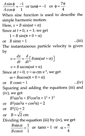 NCERT Solutions for Class 11 Physics Chapter 14 Oscillation 4