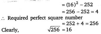 NCERT Solutions for Class 8 Maths Chapter 6 Squares and Square Roots 40