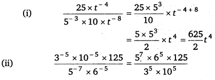 NCERT Solutions for Class 8 Maths Chapter 12 Exponents and Powers 10