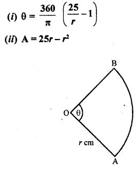 RD Sharma Class 10 Solutions Chapter 13 Areas Related to Circles Ex 13.2 - 27