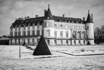 Neige, Parc du Chateau de Rambouillet, Janvier 2019