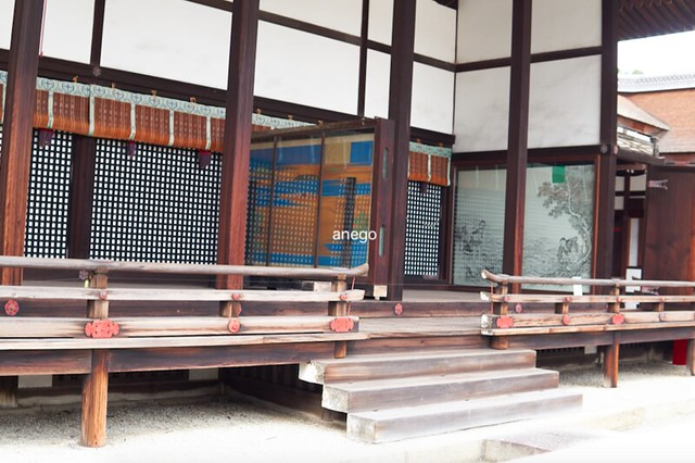 京都御所 清涼殿 荒海障子