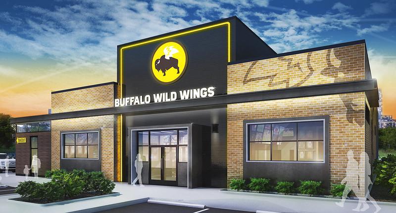 Buffalo Wild Wings New Restaurant Design