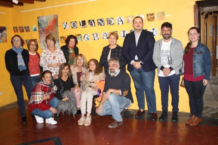 La Academia Municipal de Dibujo y Pintura homenajea a Yolanda Graziani en los actos del Día de la Mujer
