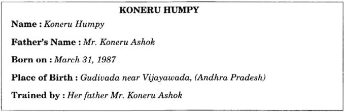 NCERT Solutions for Class 9 English Main Course Book Unit 7 Sports and Games Chapter 1 Grandmaster Koneru Humpy Queen of 64 Squares 7