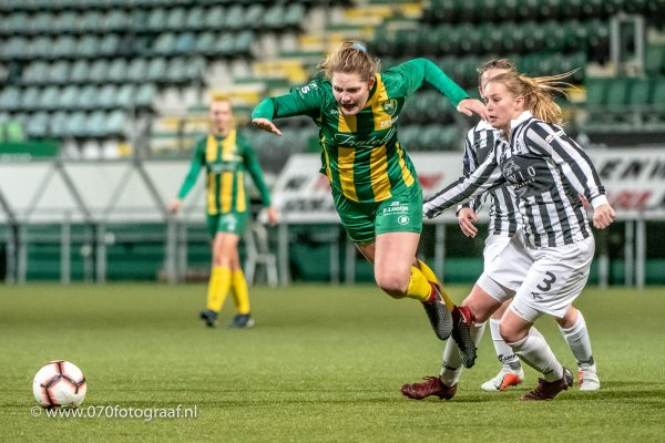 Voetbal: 2018-12-11 vrouwen ADO – Achilles '29 [6-0]