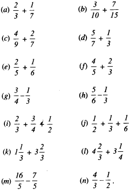 NCERT Solutions for Class 6 Maths Chapter 7 Fractions 98