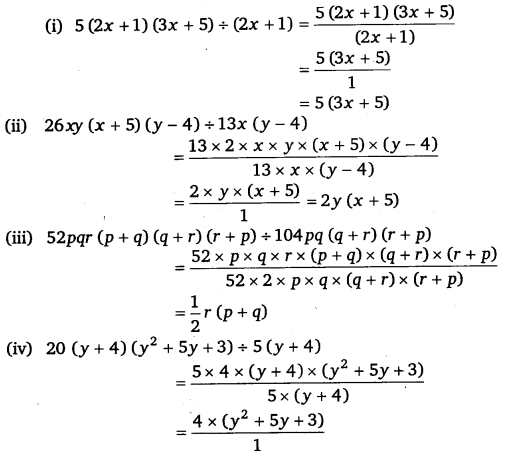 NCERT Solutions for Class 8 Maths Chapter 14 Factorisation 18