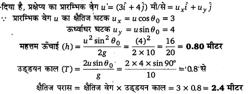 UP Board Solutions for Class 11 Physics Chapter 4 Motion in a plane ( समतल में गति) l3