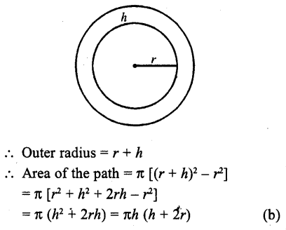 RD Sharma Class 10 Solutions Chapter 13 Areas Related to Circles MCQS -26