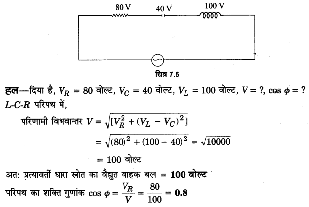 UP Board Solutions for Class 12 Physics Chapter 7 Alternating Current VSAQ 21