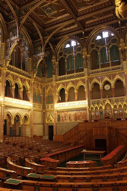 Visita al Parlamento de Budapest en español