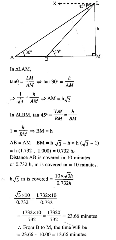 Selina Concise Mathematics Class 10 ICSE Solutions Chapterwise Revision Exercise 100