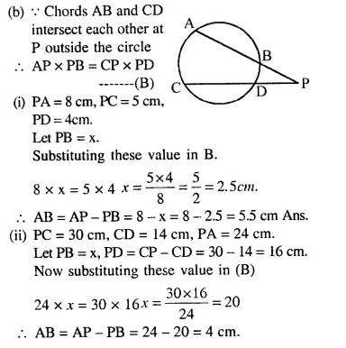 Selina Concise Mathematics Class 10 ICSE Solutions Chapterwise Revision Exercise 86a