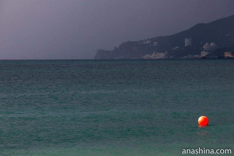 Черное море, Крым, Ялта