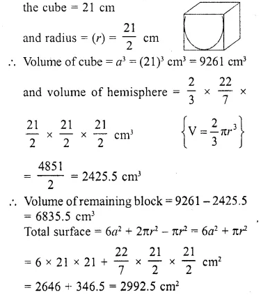 RD Sharma Class 10 Solutions Chapter 14 Surface Areas and Volumes Ex 14.2 25