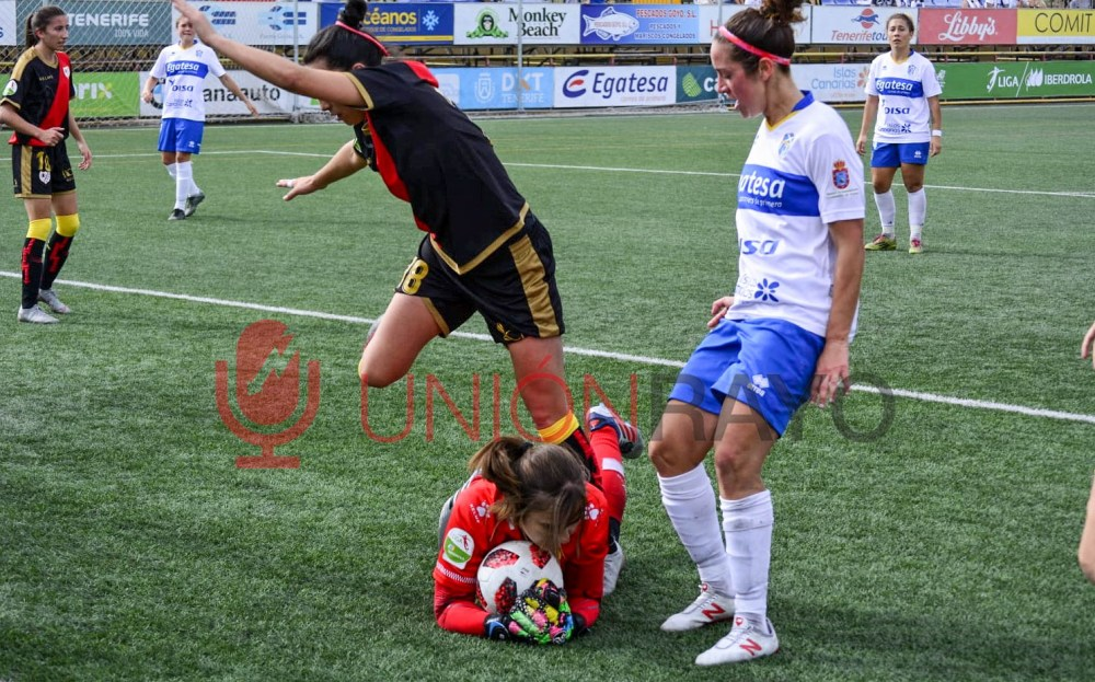 UDG Tenerife 2-3 Rayo Femenino