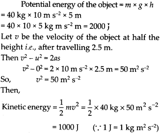 NCERT Solutions for Class 9 Science Chapter 11 Work and Energy 13