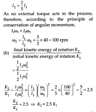 NCERT Solutions for Class 11 Physics Chapter 7 System of particles and Rotational Motion 12