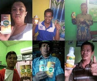 Testimoni / kesaksian obat herbal QnC Jelly Gamat