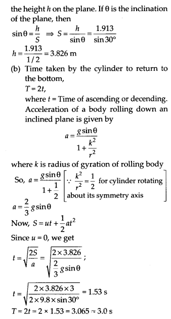 NCERT Solutions for Class 11 Physics Chapter 7 System of particles and Rotational Motion 24