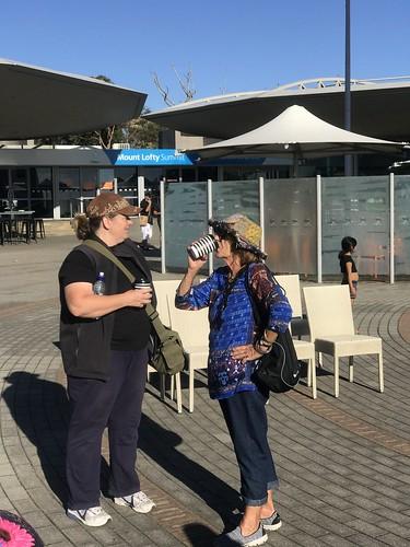 PGLC mark oliphant CP field trip - 5774 april 2018 - mount lofty summit