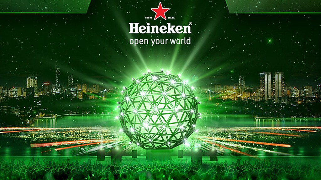 heineken new yr party