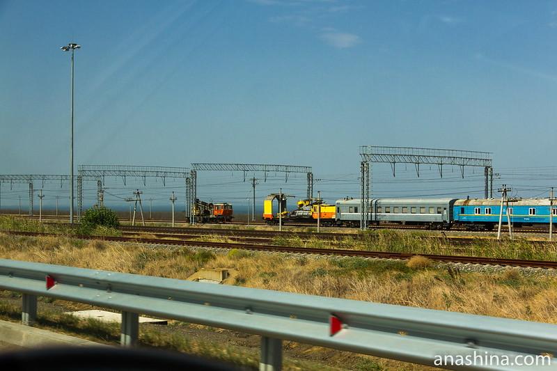 Железнодорожный ход, Таманский полуостров