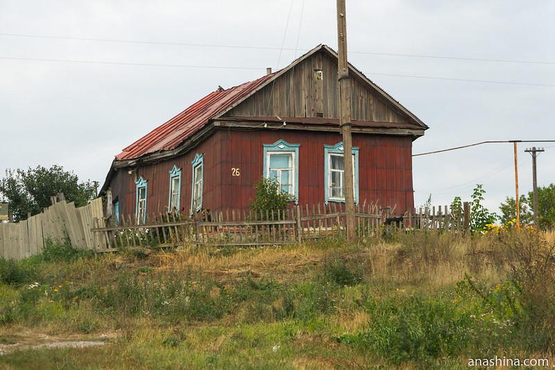 Деревенский дом, Саратовская область