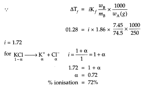 CBSE Sample Papers for Class 12 Chemistry Paper 7 Q.9.1