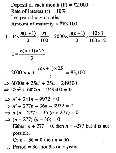 Selina Concise Mathematics Class 10 ICSE Solutions Chapterwise Revision Exercise 9