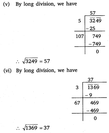 NCERT Solutions for Class 8 Maths Chapter 6 Squares and Square Roots 22