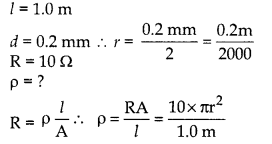 RBSE Solutions for Class 10 Science Chapter 10 Electricity Current AS Q22