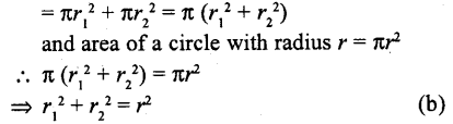 RD Sharma Class 10 Solutions Chapter 13 Areas Related to Circles MCQS -19