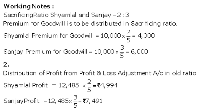 TS Grewal Accountancy Class 12 Solutions Chapter 4 Admission of a Partner Q65.3