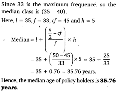 NCERT Solutions for Class 10 Maths Chapter 14 Statistics 44