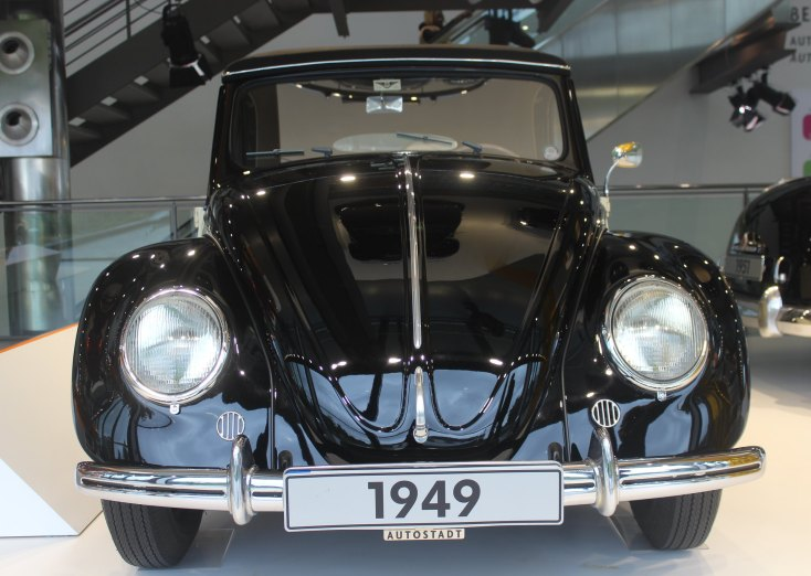 Vintage cars at Autostadt, Wolfsburg, Germany