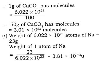 RBSE Solutions for Class 9 Science Chapter 3 Atomic Structure 1.11
