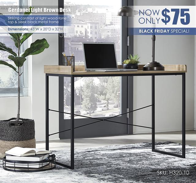 Gerdanet Desk_H320-10