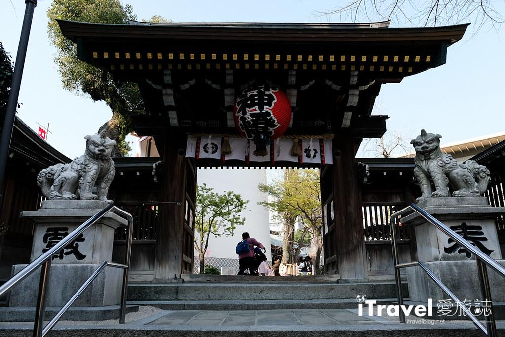 福岡賞櫻景點 櫛田神社 (35)