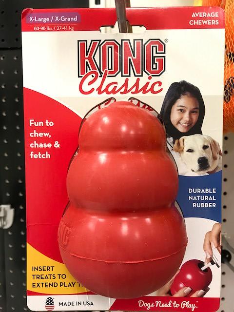 犬の一人遊びにおすすめのコング